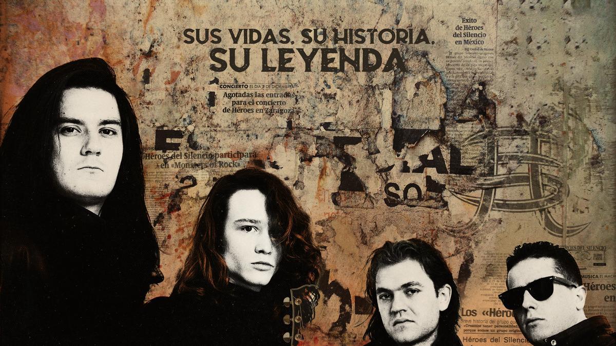 Cartel del documental 'Héroes, silencio y Rock & Roll'