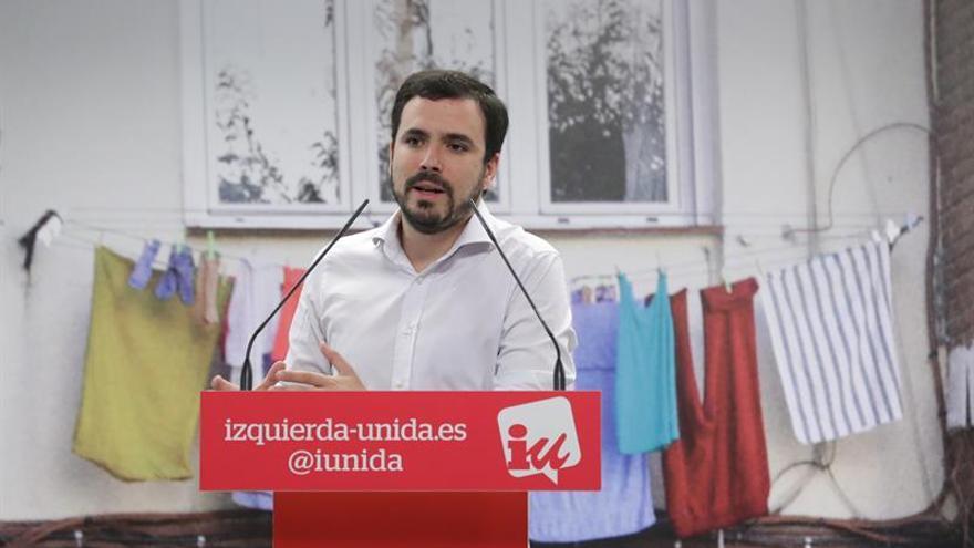 Garzón ve sorprendente que la declaración de Rajoy no se salde con dimisiones