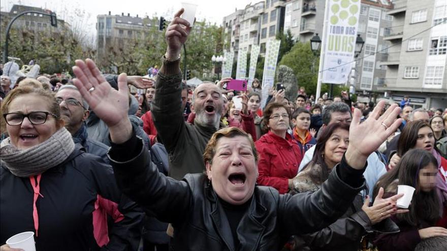 El año nuevo se va antes en Galicia y con mucha fiesta
