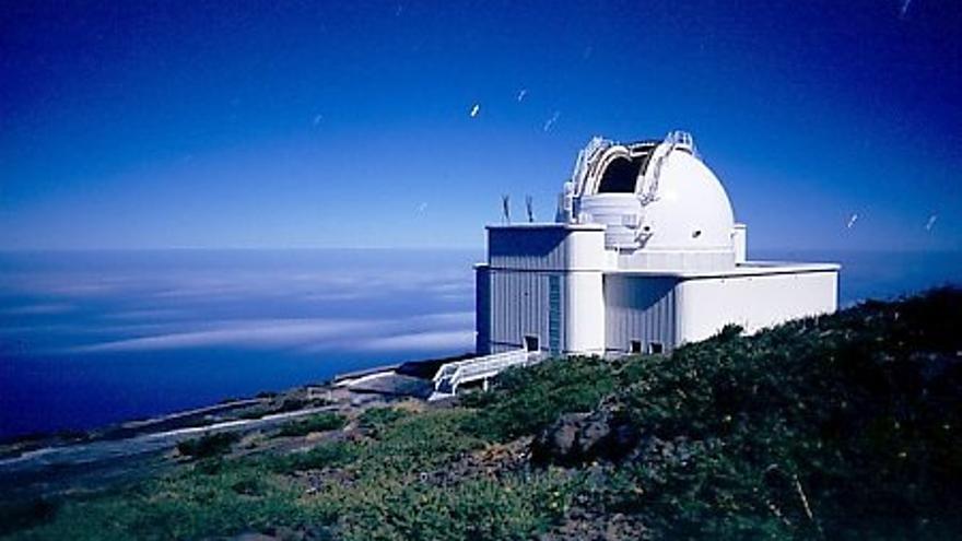 Imagen de archivo del Telescopio Isaac Newton.