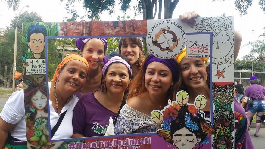 Marcha por la Paz en Medellín