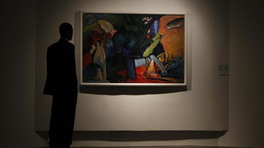 El arte abstracto de Kandinsky llega por primera vez a Brasilia