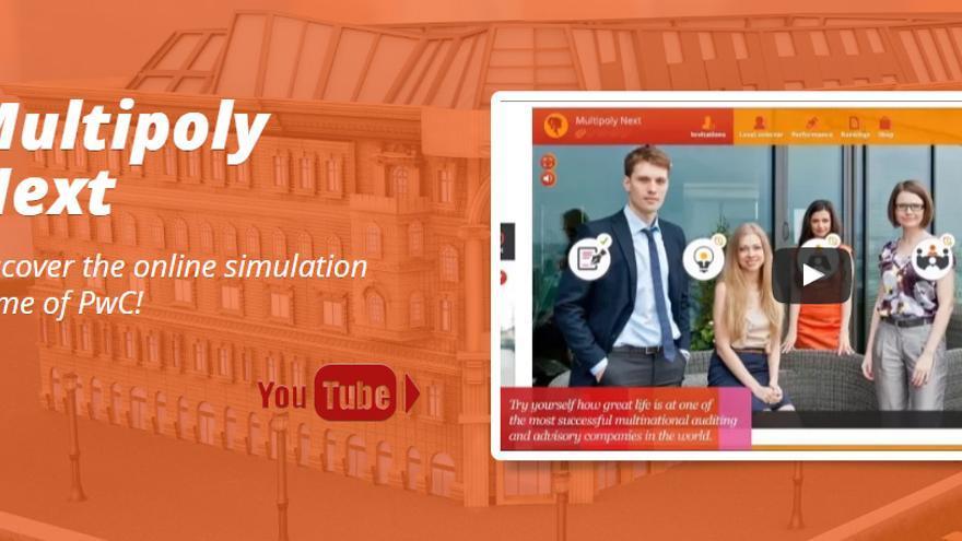 PwC ha desarrollado el juego 'Multipoly' para seleccionar candidatos