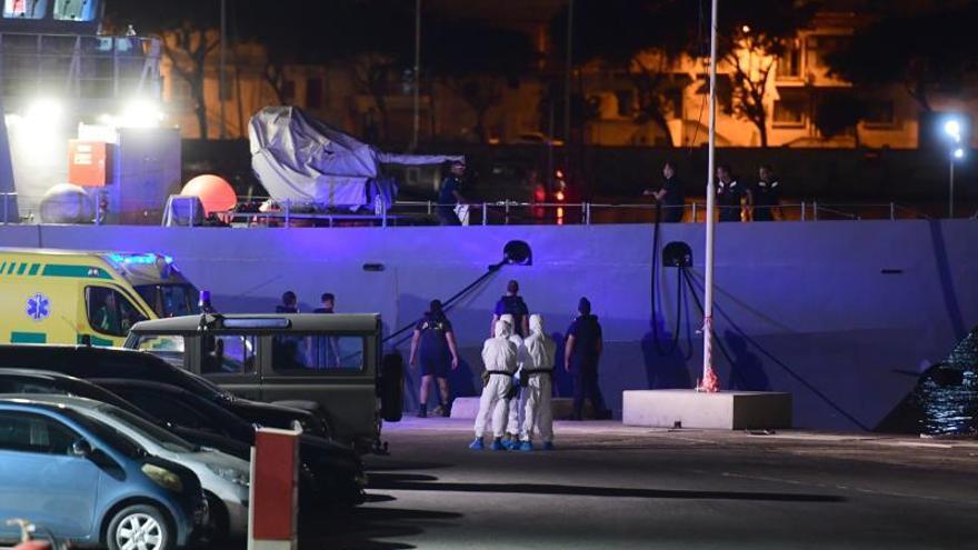 Los 182 inmigrantes del Ocean Viking podrán desembarcar en Messina