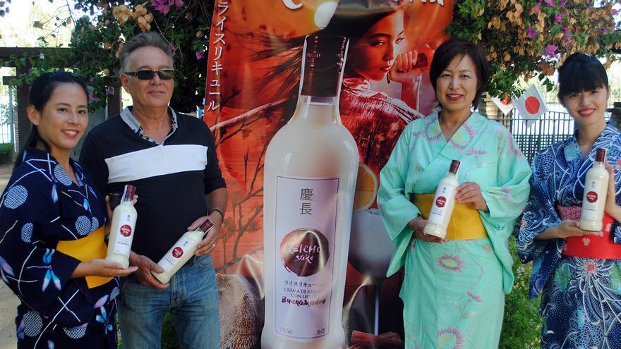 El creador del Sake de Coria, Antonio Bizcocho.