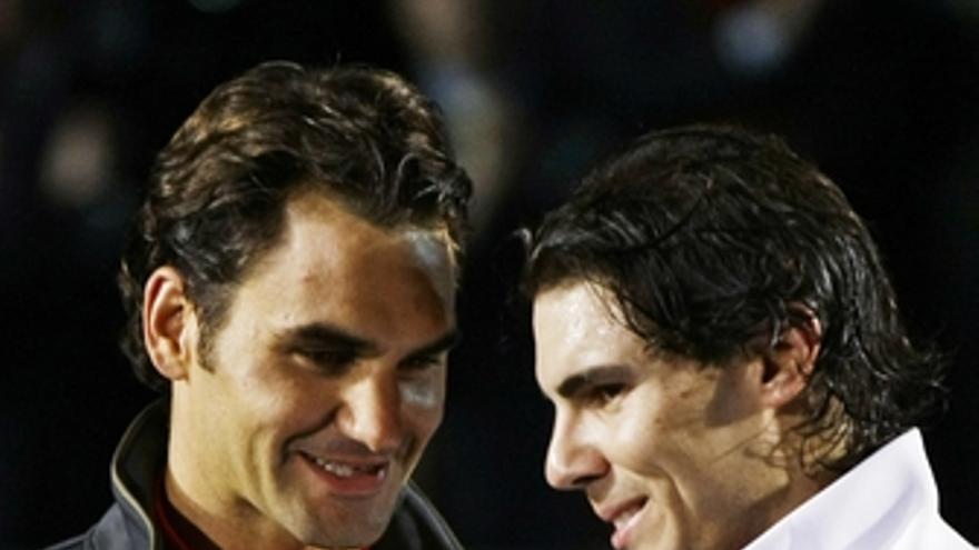 Nadal y Federer en Madrid a favor de los niños pobres