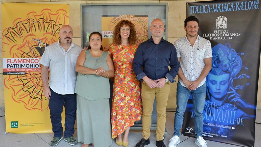 Junta lleva a Itálica la primera edición del ciclo 'Flamenco Patrimonio en los Teatros Romanos'