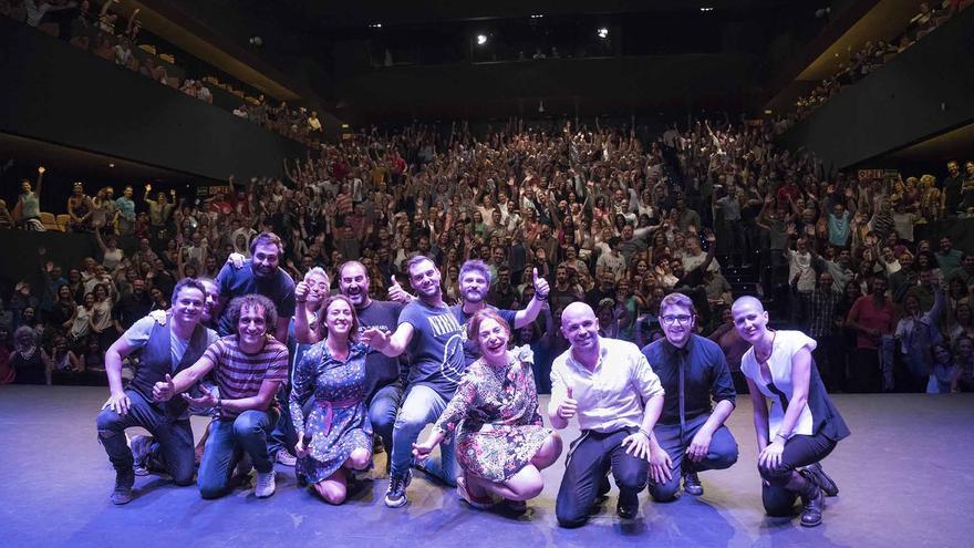 La Sala Rambleta acogió la gala del Circuito Café Teatro