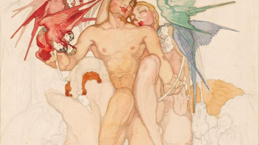 'Néstor Inédito',  una Imagen de la exposición.