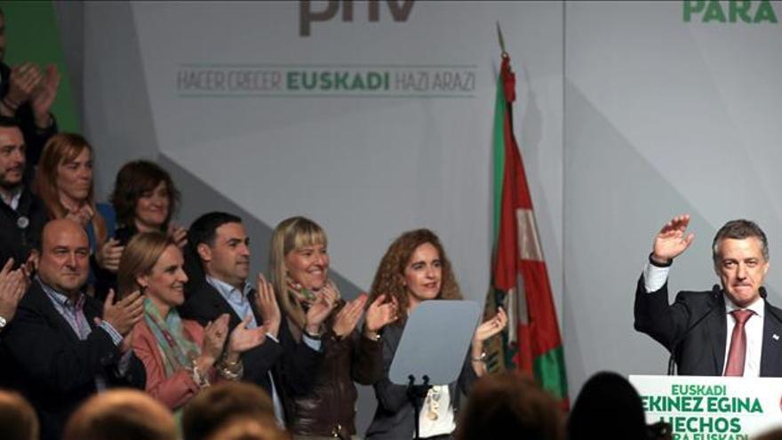 """Urkullu reclama para el PNV el """"voto útil"""" para sumar, crecer y generar empleo"""