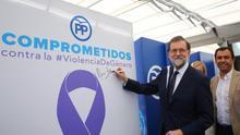 Rajoy utiliza el pacto contra la violencia machista para pasar página sobre su declaración judicial