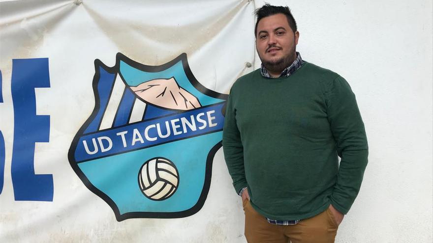 Jorge Juan Castro debutará con la UD Tacuense el próximo fin de semana en Villarreal.