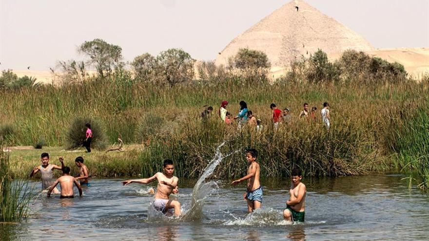 Egipto recibe a la primavera como lo hacían los faraones