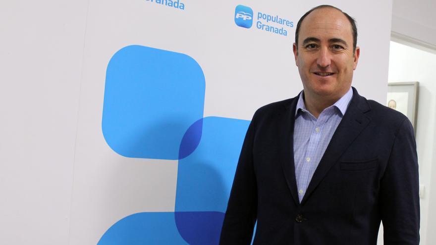 Juan García Montero, candidato a la presidencia del PP granadino