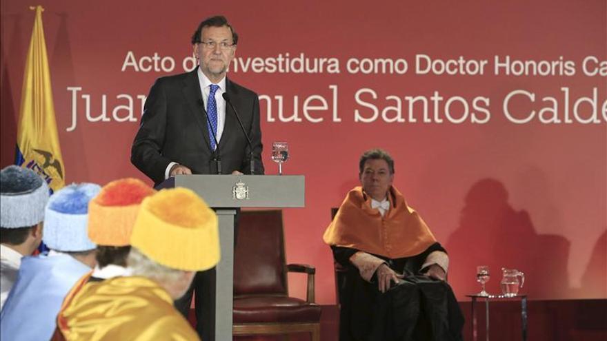 Rajoy ensalza la unidad en la diversidad y apela a actuar como hombres de Estado