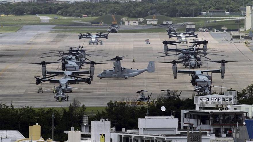 Okinawa demanda de nuevo a Tokio para frenar el traslado de la base de EEUU