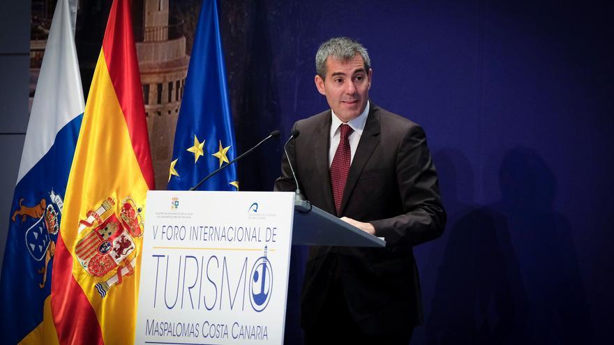 El presidente del ejecutivo regional canario, Fernando Clavijo.