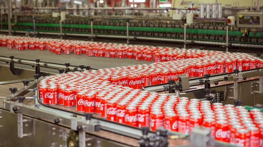 Fábrica de Coca Cola en Andalucía