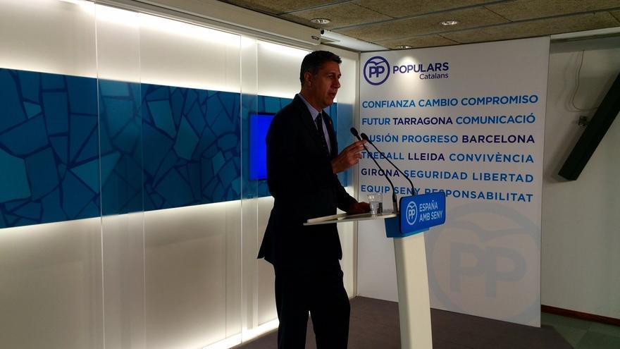 """Albiol (PP) avisa a Rivera de que vetar un pacto con Rajoy genera """"inestabilidad"""""""