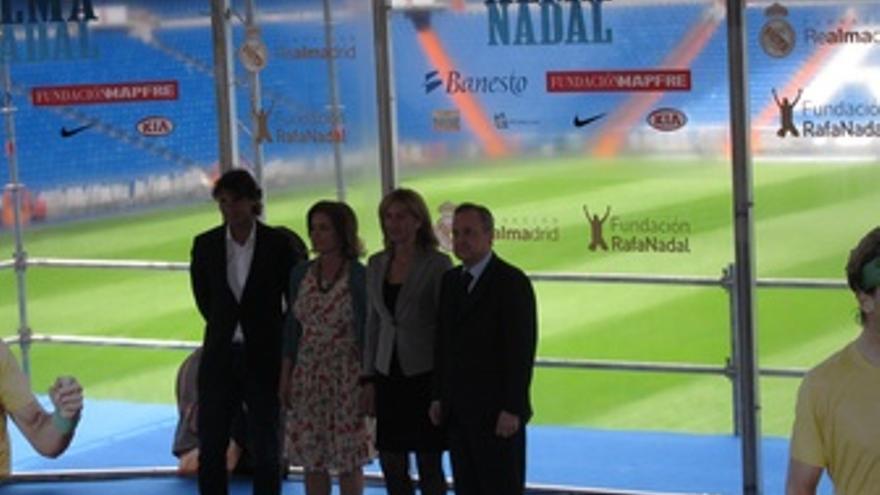 Nadal, Florentino Pérez, Ana Botella, Ana María Parera