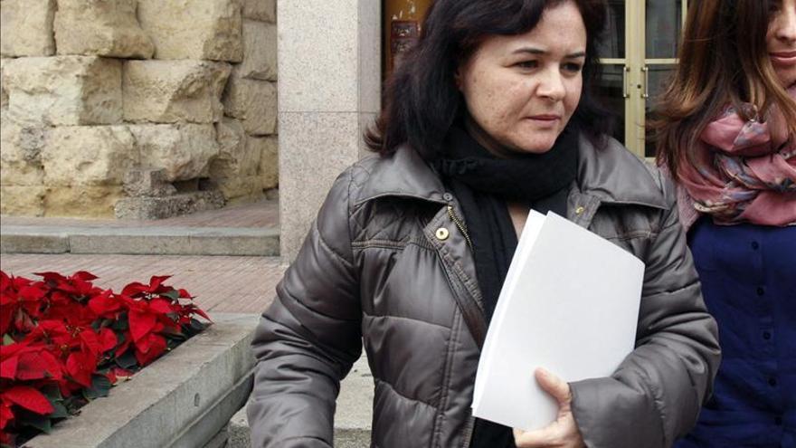 Ruth Ortiz desea que la distinción de Huelva a sus hijos sirva para educar a los niños en igualdad