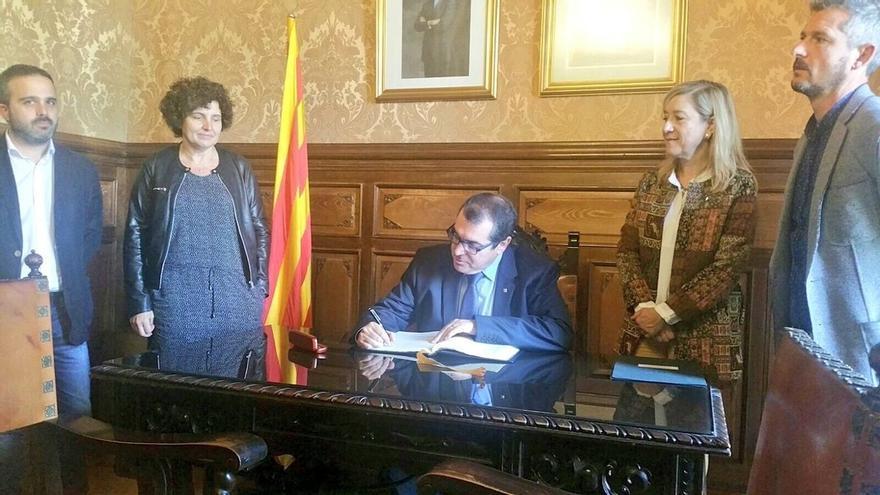 Consejero catalán de Interior lamenta detener a una alcaldesa pero recalca que es orden del juez y no de su consejería