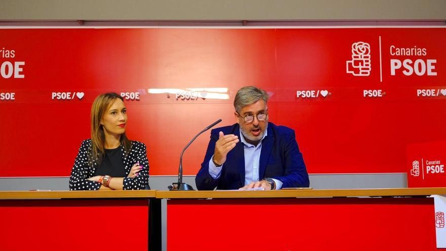 Nira Fierro y Jorge González. (PSOE)