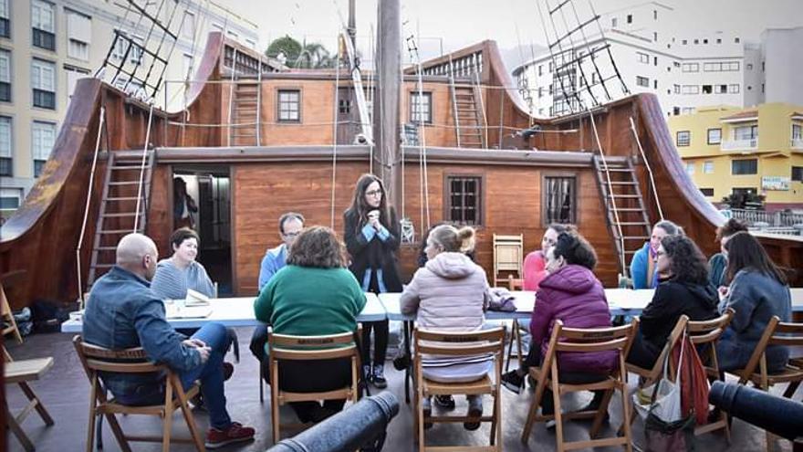 El Cabildo celebra la segunda edición del taller de escritura creativa 'La ciudad se escribe'