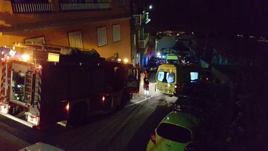 Fallece un hombre de 80 años en un incendio en una vivienda en Tenerife