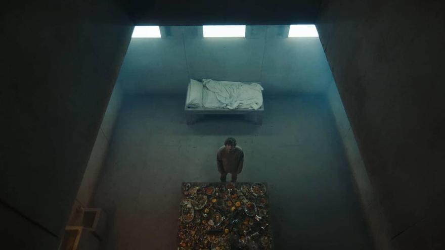 Fotograma de 'El hoyo', de Galder Gaztelu-Urrutia