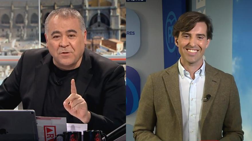 """Ferreras se despide del recién fichado por el PP Pablo Montesinos: """"Ahora nos vas a sufrir, no sabes cómo"""""""