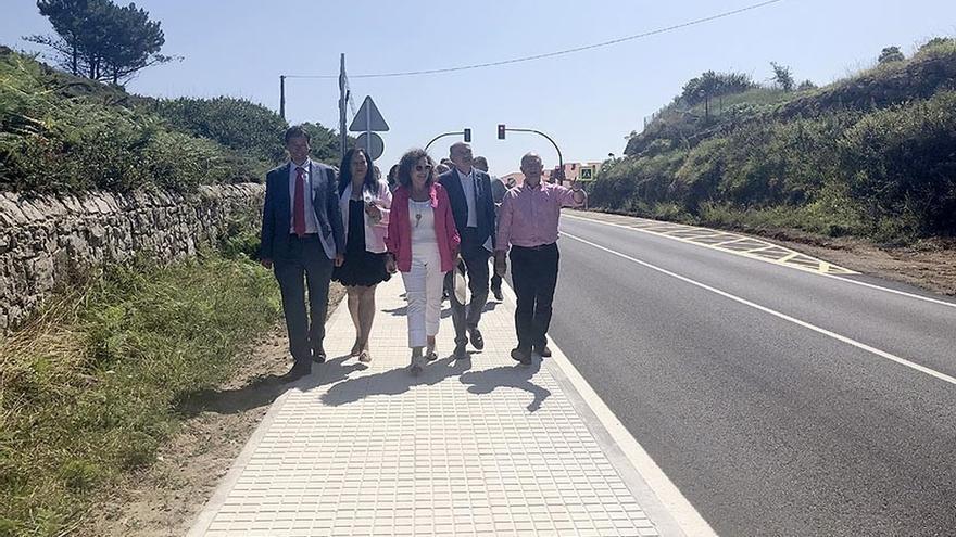 El paseo peatonal entre Casasola y el camping de Comillas ya es realidad tras una inversión de 300.000 euros
