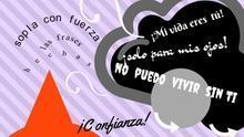 """""""Mi vida eres tú"""", """"no puedo vivir sin ti"""": el Ayuntamiento de Huesca destierra las frases hechas en su campaña contra la violencia machista"""
