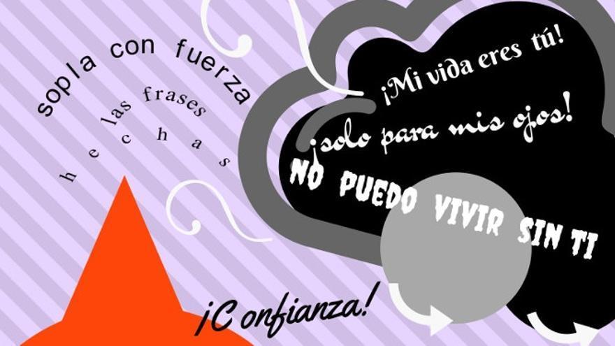 Cartel anunciador de la campaña.