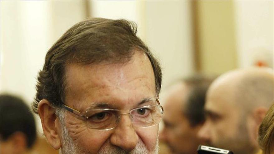 Rajoy envía a Renzi la solidaridad de España con víctimas de las inundaciones