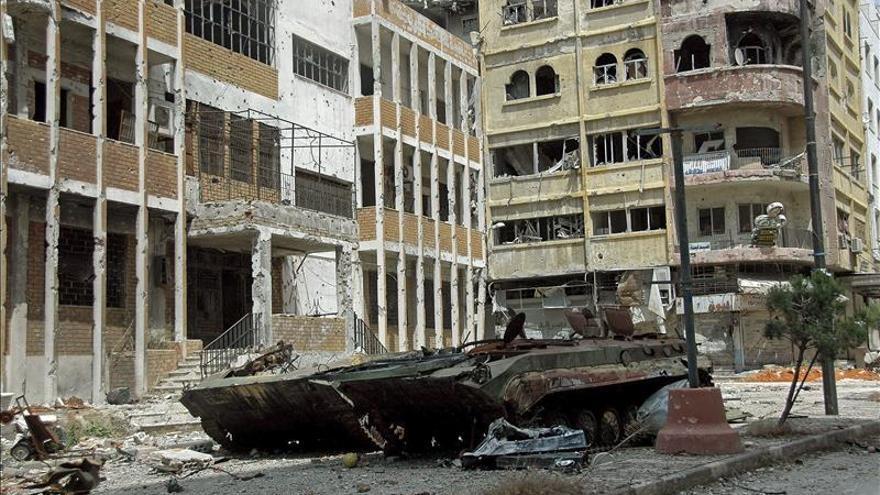 El Ejército sirio y milicianos afines matan a 48 sirios en el norte del país