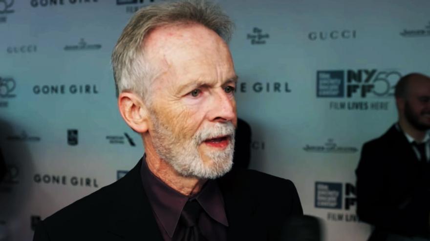 El actor David Clennon, durante una entrevista