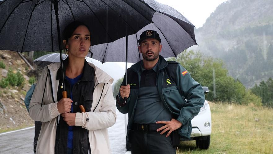 TVE muestra las primeras fotos del rodaje de 'La caza. Monteperdido', su nueva serie