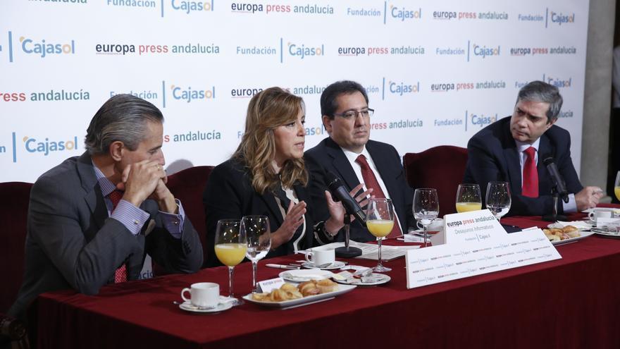 """Susana Díaz ve insuficiente una """"rebajita"""" del IRPF y critica el """"paraíso fiscal"""" que pretende Madrid"""