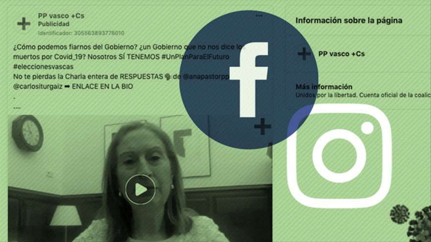 El PP viola las normas de Facebook para pagar un anuncio electoral que usa los muertos de la COVID-19 contra el Gobierno