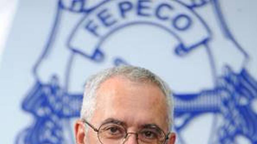 Oscar Izquierdo,  presidente de Fepeco  (Federación Provincial de Entidades de la Construcción).