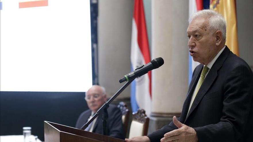 Margallo espera respeto a los resultados electorales en Venezuela