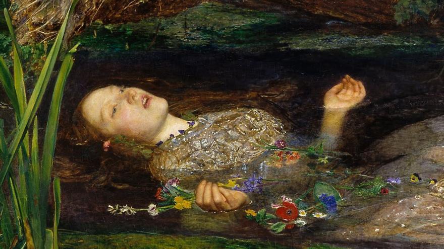 La Ofelia de John Everett Millais