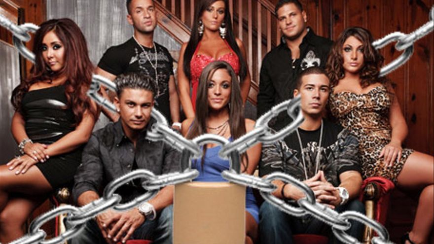 """Los participantes de """"Jersey Shore"""", en cuarentena entre temporadas"""
