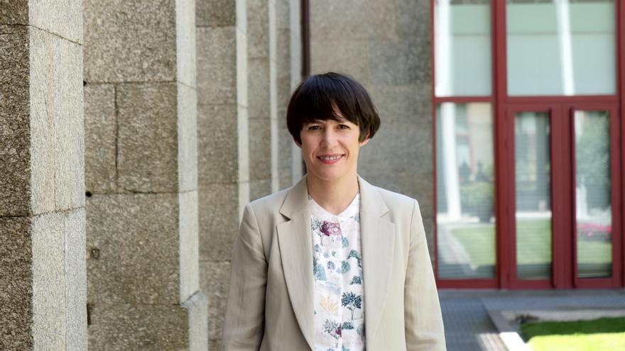 Ana Pontón en el Parlamento de Galicia.