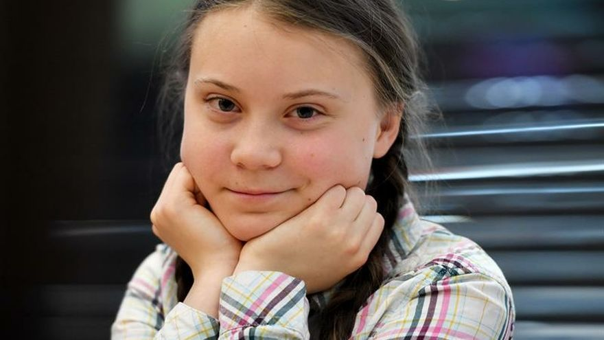 They publish in Spanish the speeches of the teenage activist Greta Thunberg