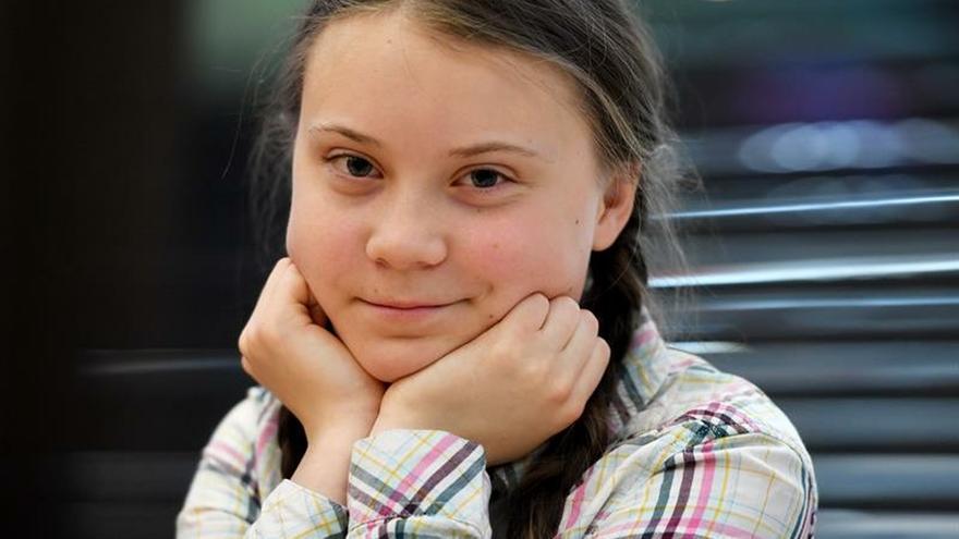 Publican en español los discursos de la activista adolescente Greta Thunberg
