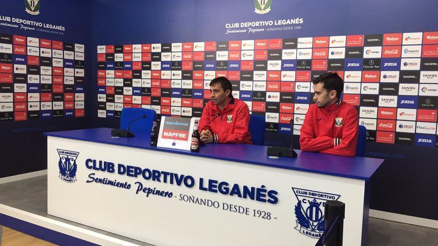 El técnico del Leganés Asier Garitano.