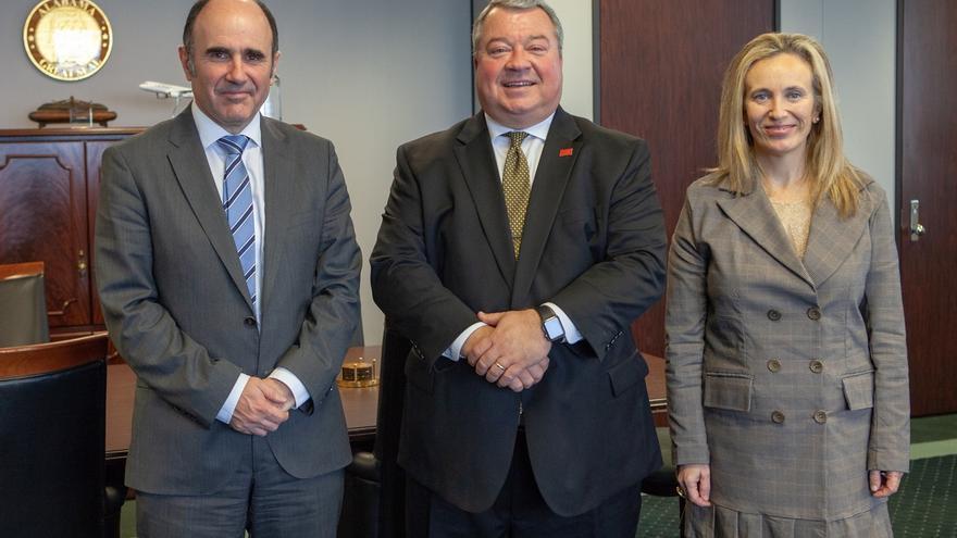 La misión institucional del Gobierno foral a EEUU concluye con la visita a las plantas de Viscofan y Truck & Wheel
