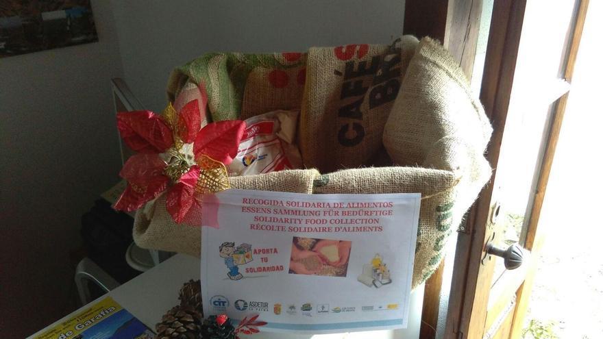 El CIT Tedote realizada una campaña solidaria de recogida de alimentos en las oficinas de Información Turística de Breña Baja, Los Llanos de Aridane, Garafía y Santa Cruz de La Palma.